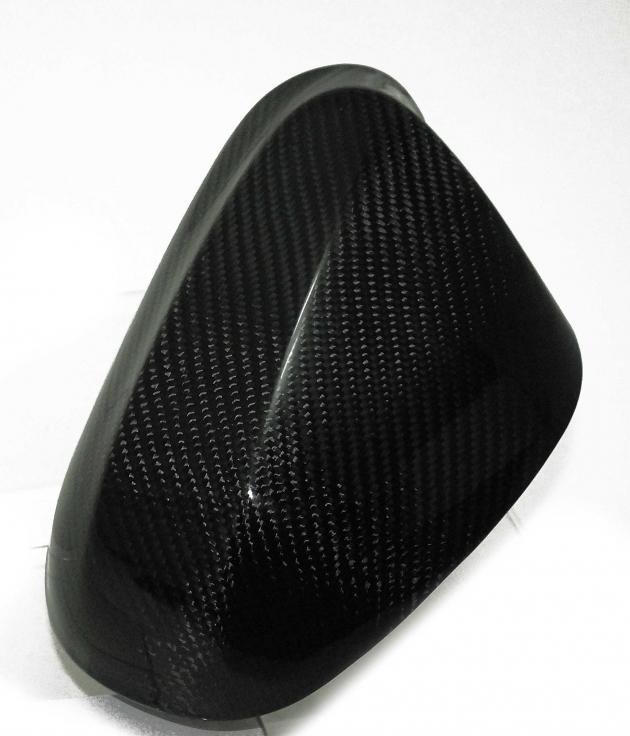 E92 LCI carbon side mirror cover 2