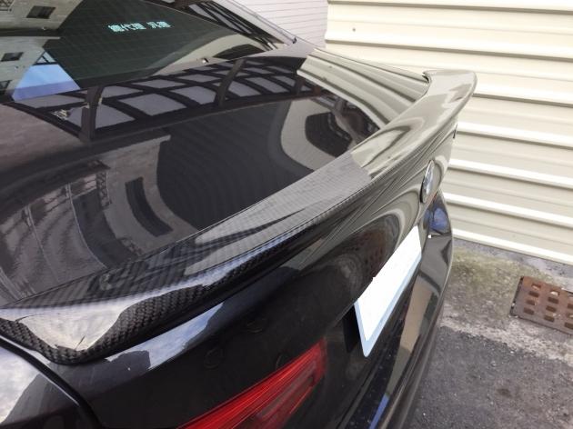 G30 3D style carbon rear spoiler 2